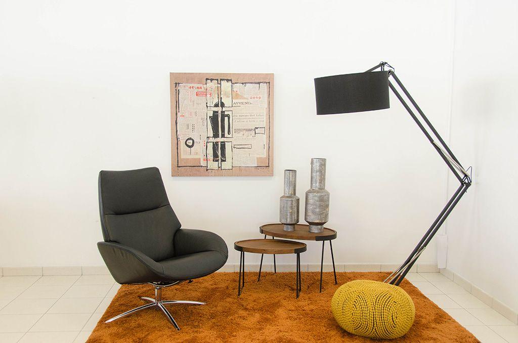 Table Céramique, Chaises Tissu Déhoussable, Console Métal